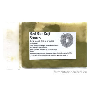 Red Rice Koji Spores